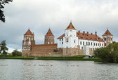 Mir Castle Complex, Belarus — Stock Photo