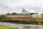 Varsayım katedrali smolensk, rusya federasyonu — Stok fotoğraf