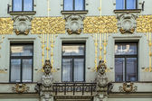 Art Nouveau building, Vienna — Stock Photo