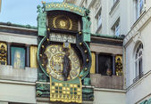 Anker Clock, Vienna — Stock Photo