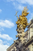 Plague Column, Vienna — Stock Photo