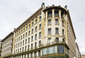 Building in Art Nouveau style, Vienna — Stock Photo