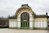 The Art Nouveau pavilion, Vienna — Stok fotoğraf