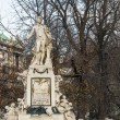 Mozart monument, Vienna — Stock Photo #38482691