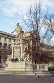 Mozart monument, Wenen — Stockfoto