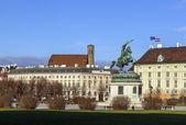 Heldenplatz (Heroes' Square), Vienna — 图库照片