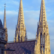 Stock Photo: Votive Church, Vienna