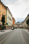 Street in Innsbruck, Austria — Stock Photo