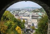The historic center of Salzburg, Austria — Stock Photo