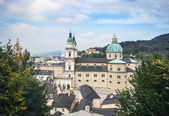 Salzburg Cathedral, Austria — Stock Photo