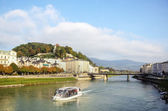 Salzach river in Salzburg, Austria — Stock Photo