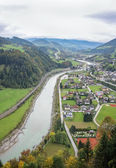 Salzach valley, Austria — Stock Photo