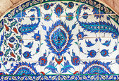 Turkish ceramic Tiles, Istanbul — Stock Photo