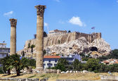 Akropole v athénách — Stock fotografie