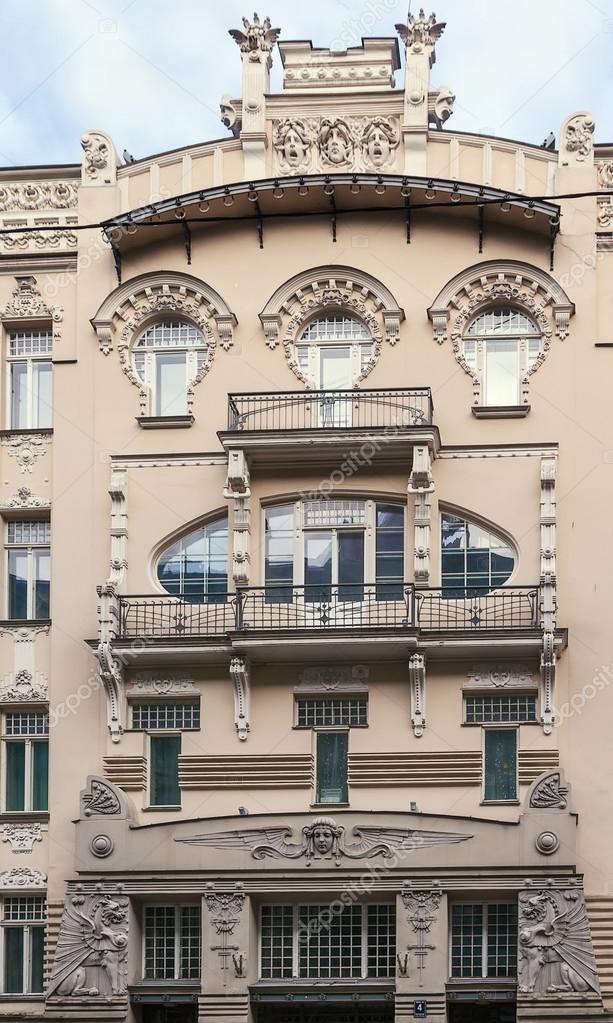 Nouveau Style Facebook Art Nouveau Style House in