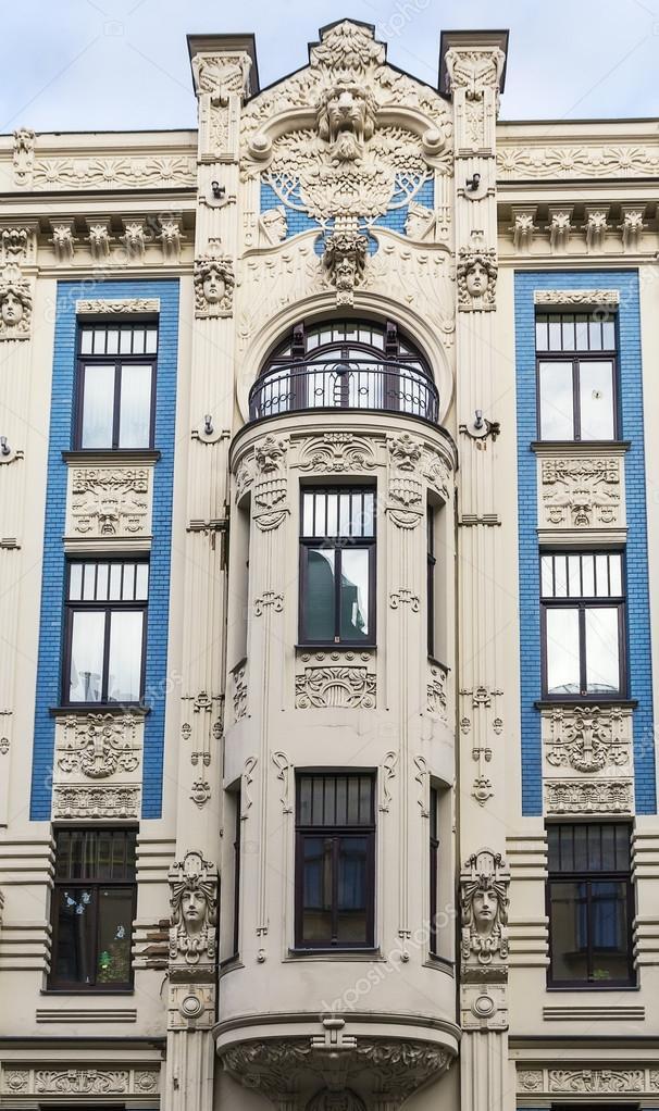 Nouveau Style Plus Art Nouveau Style House in