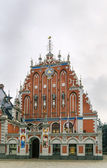 Brotherhood of Blackheads  building, Riga  — Stock Photo