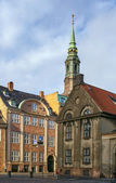 Street in the old town of Copenhagen, Denmark. — Stock Photo