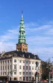 St Nicholas Church, Copenhagen — Stock Photo