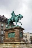 Statue of Frederik VII, Copenhagen — Stock Photo