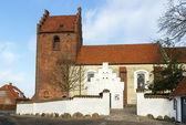 Sankt Jorgensbjerg Church, Roskilde — Stock Photo