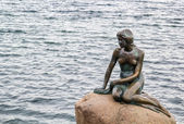 The Little Mermaid, Copenhagen — Stock Photo