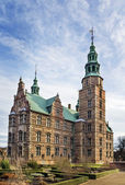 Rosenborg palace, Copenhagen — 图库照片