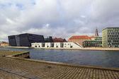 Nabrzeże kanału, Kopenhaga — Zdjęcie stockowe