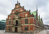 Borsen (The Stock Exchange), Copenhagen — Stockfoto