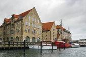 Waterfront of channel, Copenhagen — Foto Stock