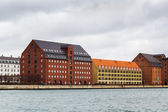 Waterfront of channel, Copenhagen — Stok fotoğraf