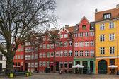 Square in the Centre of Copenhagen — Stock Photo