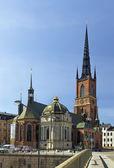 Riddarholm Church, Stockholm — Stock Photo