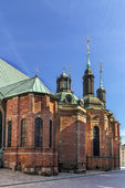 Riddarholm Church, Stockholm — Stock Photo