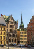 Square in Gamla Stan, Stockholm — Stock Photo