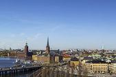 View of Gamla Stan, Stockholm — Stock Photo