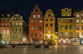 Stortorget wieczorem, Sztokholm — Zdjęcie stockowe