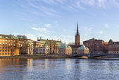 View of Gamla Stan  and Riddarholme, Stockholm — Stock Photo