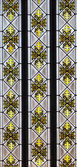 Stained-glass window  — Stock Photo