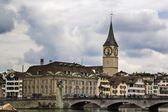 St. Peter church, Zürich — Stock Photo