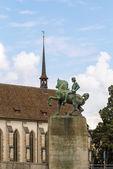Monument to Hans Waldmann, Zurich — Stock Photo