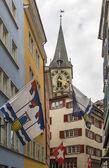 Street in Zurich — Foto Stock