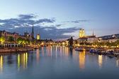 Limmat river in Zurich — Stock Photo