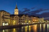 St. Peter church, Zurich — Stock Photo
