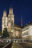 Grossmunster church, Zurich — Stockfoto
