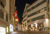 Street in Zurich — Stockfoto