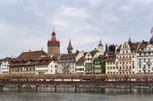 Kapellbrucke, Lucerne — Stock Photo