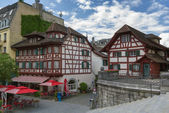 Half-timbered houses, Lucerne — Photo