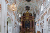 Jesuit Church, Lucerne — Stock Photo