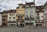 Square in Lucerne — Foto Stock